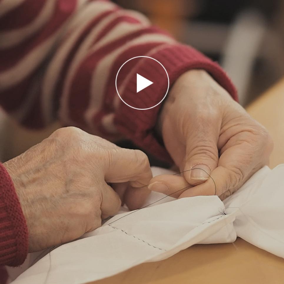 甘木絞り × 高齢者との繋がり